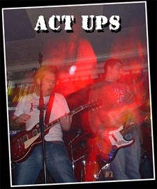 The Act-Ups Live + PACHUCA PARTY